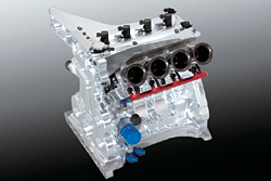 Engine for racing car