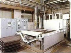 Aluminum solution treatment furnace