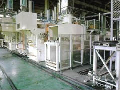 Full automatic carburizing line