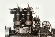 First host bulb engine made by our own in 1946