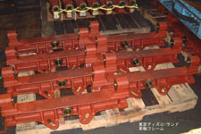 Axle Frame for machines used in Tokyo Disneyland