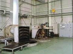 ピット型無酸化炉