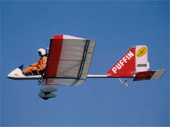 Ultralight plane (single seater)