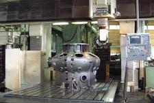 Main housing for gas turbine